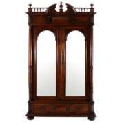 French-Mirrored-Two-Door-Walnut-Wardrobe-SAUC75CHP_sq